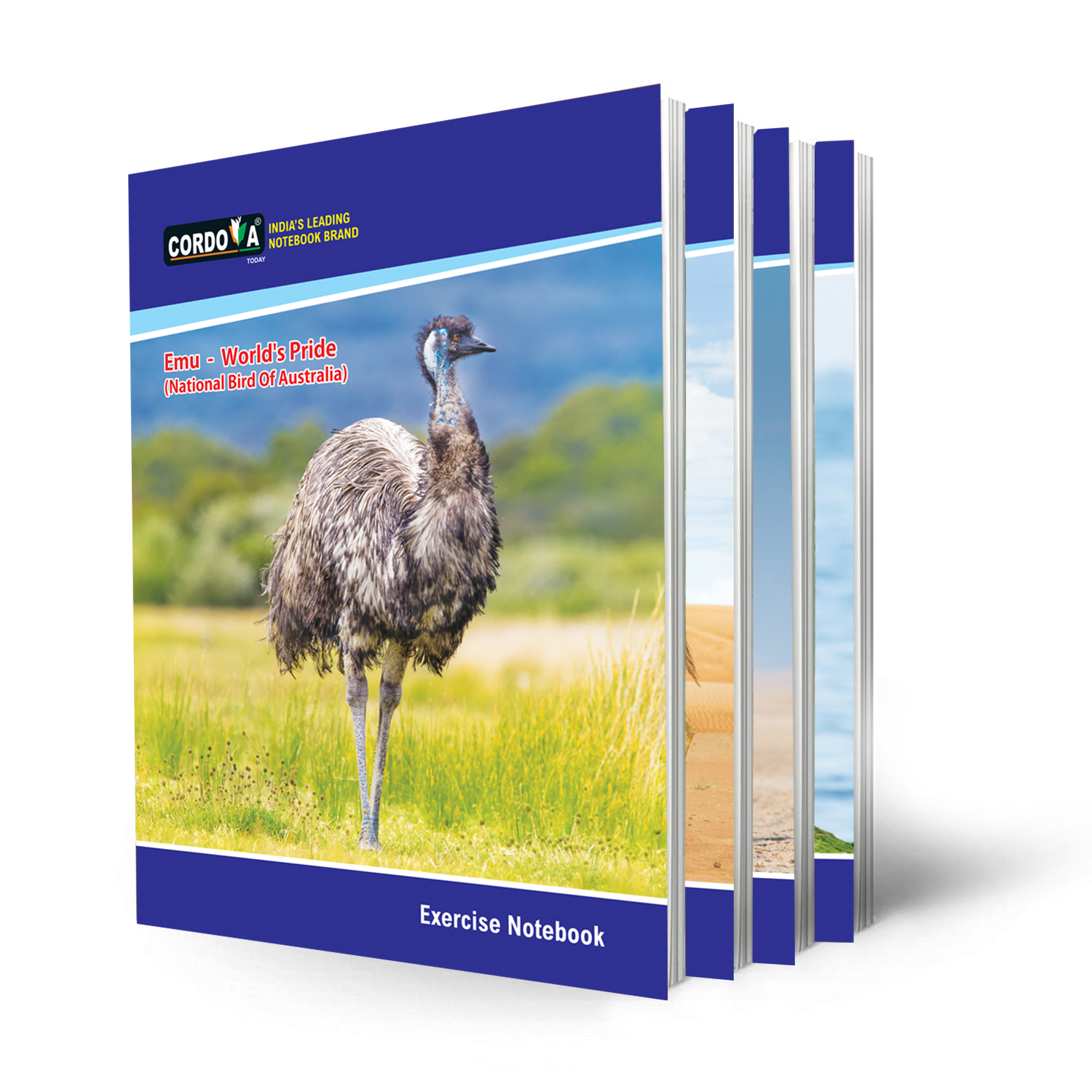 Student Note Books- Pack of 6 [5(+)1 offer], 180 Pages